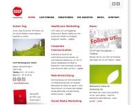 Bild Webseite CCCP Werbeagentur Köln