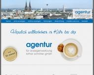 Bild Webseite Agentur für Anzeigenwerbung Lothar Schröter Köln