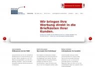 Bild Webseite RDW, Rheinische Direkt-Werbung Köln