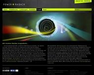Bild Webseite POWER+RADACH werbeagentur Aachen
