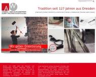 Stempel Walther Dresden albert walther dresden stempel