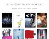 Bild Webseite Kastner & Partner Frankfurt