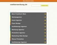 Bild Webseite Völker Werbung Frankfurt