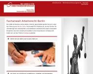 Bild Webseite Marion Zehe - Fachanwalt Arbeitsrecht Berlin Berlin