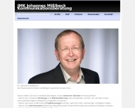 Bild Webseite KMB | Konzept Management Beratung für Unternehmens-Kommunikation Wiesbaden