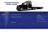 Bild  Transport Kontor Kaiser GmbH