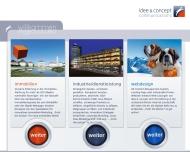 Bild Webseite idee & concept Werbeagentur München