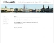 Bild Webseite Medienpool TV München