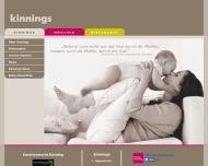 Bild Webseite Kinnings München
