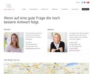 Website GRUNWALD Kommunikation und Marketingdienstleistungen