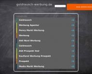 Bild Webseite Goldrausch Agentur für Kommunikation Nürnberg