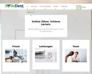 Website Smiledent Berlin