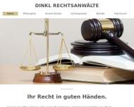 Bild Webseite Dinkl Rechtsanwälte München