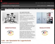 Website Lotz Lagertechnik