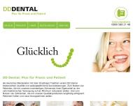 Bild Webseite DD Dental Flensburg