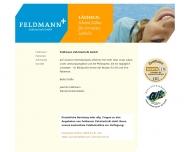 Website Feldmann Zahntechnik