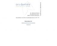 ars dentale - Zahntechnik GmbH