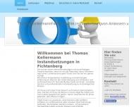 Bild Webseite  Fichtenberg