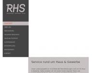 Bild RHS Dienstleistung