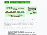 Website DM-Hausverwaltung