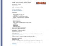 Bild Rainer Ulbricht, Dentaltechnik GmbH