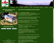 Website Gersbacher Hörnle Naturfreundehaus und Berggasthaus