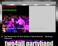 Bild two4all Partyband aus Bremen