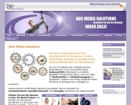 Website AOS Media Solutions UG