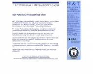 H T PERSONAL+MEDIASERVICE GMBH