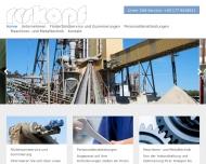 Bild Webseite Roskopf Personalservice Aachen