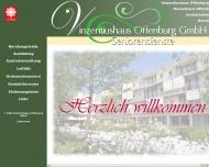 Website Vinzentiushaus Offenburg