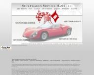 Bild Webseite Sportwagen Service Hamburg Niemann Handelsges.mbH Hamburg