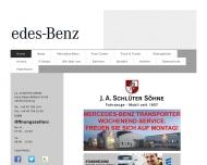 Bild Webseite J.A. Schlüter Söhne Hamburg