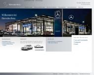 Bild Webseite Mercedes Benz // Alle Vertragspartner - Herbert Mühle Hamburg