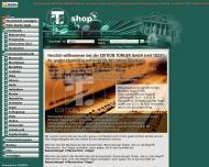 Bild Webseite Tonger P.J. Musikverlag Köln