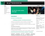 Bild Webseite AUTODOCK Hamburg
