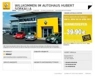 Bild Webseite Sorkalla Hubert Autoservice Hamburg