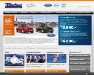 Bild Webseite Autohaus Tobaben Hamburg