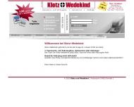 Bild Webseite Klotz & Wedekind Fahrzeugbau Hamburg
