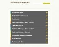 Bild Webseite Autohaus Rubbert Hamburg