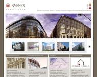 Website INVENEX Immobilien