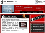Bild Webseite MY-PROVINCE Berlin