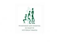 Bild Webseite Krankengymnastik Berlin - Judith Wiesenthal Berlin
