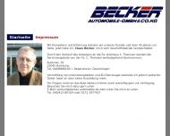 Bild Webseite Johannes Kallweit Hamburg