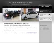 Bild Webseite Mascher Automobile Hamburg