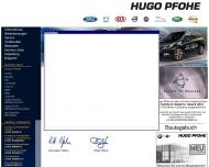 Bild Webseite Hugo Pfohe Hamburg