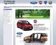 Bild Webseite Sperling B. & Sohn Hamburg