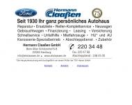 Bild Webseite Hermann Claaßen Hamburg