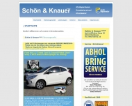 Bild Webseite Schön & Knauer Hamburg