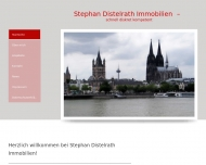 Website Stephan Distelrath Immobilien